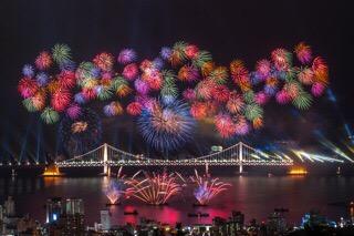 第13回釜山花火祭り