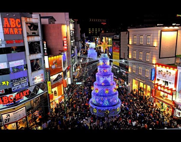 クリスマスツリー文化祭り